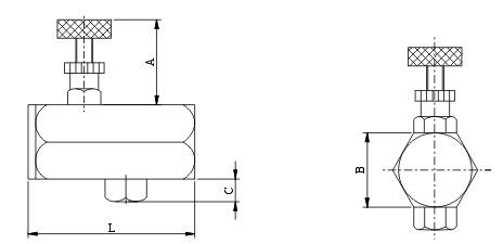 管式单向节流阀阀图片